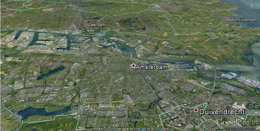 Real-Time Google Earth