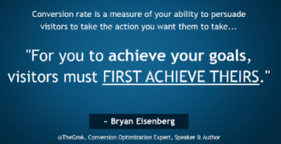 Quote Bryan Eisenberg