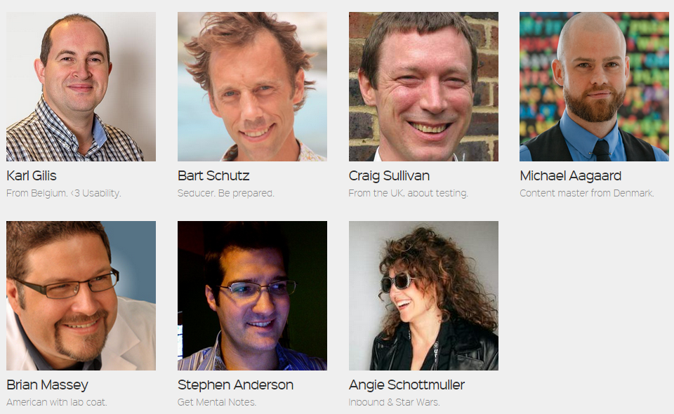 Speakers #CH2014