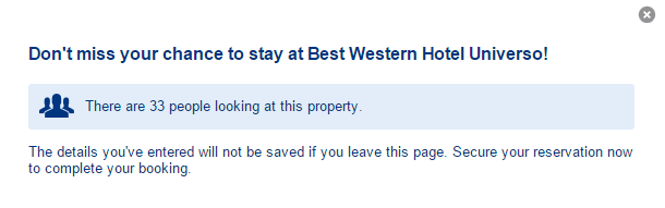 Exit - Best Western Hotel Universo