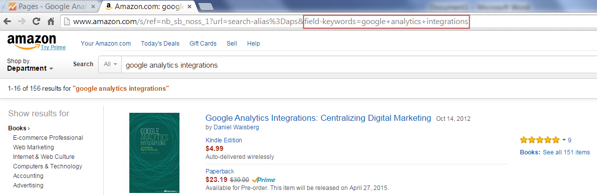 5 Terrific Insights via Google Analytics Site Search