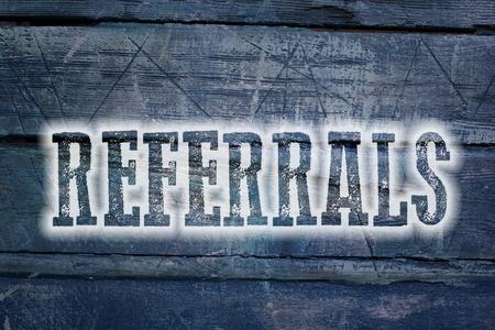 self-referrals