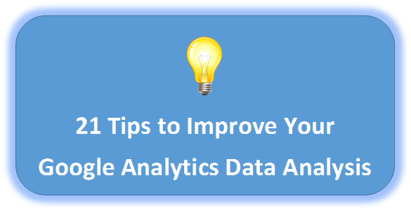 Improve Google Analytics Data Analysis