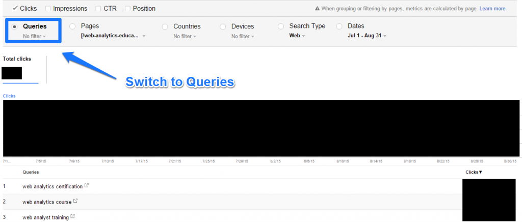 Switch to Queries