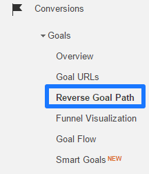 Access reverse goal path report