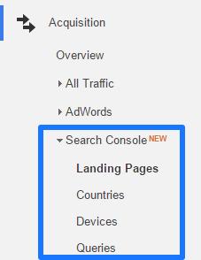 Search Console Reports