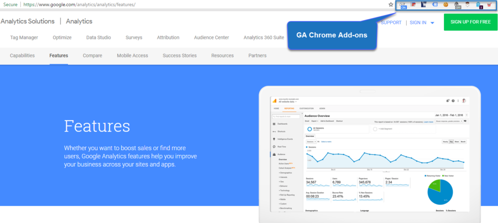 Google Analytics Tools and Add-ons