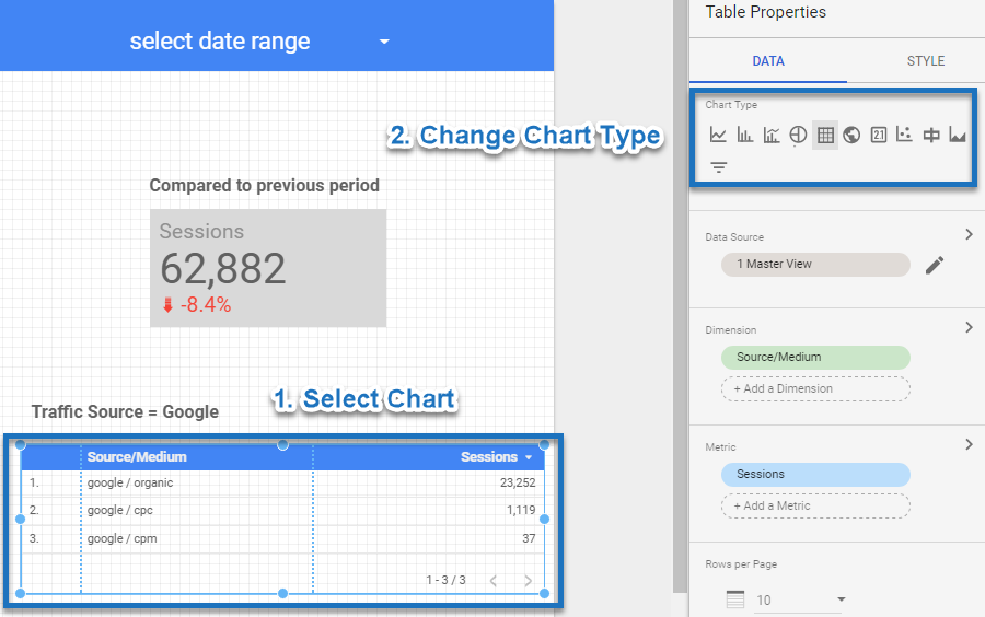 22 Tips to Get Up-to-Speed with Google Data Studio | Online
