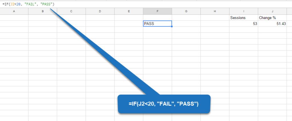 Google Sheets - step 3