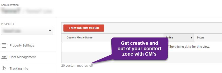 #23 - custom metrics