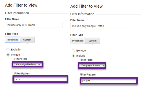 Step 5 - include AdWords traffic