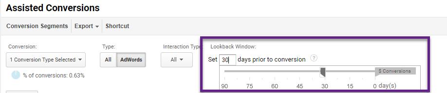 Lookback Window
